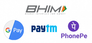 UPI Payment Methods We Accept